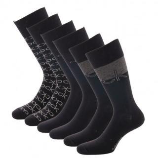 3PACK socks Calvin Klein black  pánské Other One size