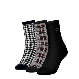 3PACK womens socks Calvin Klein multicolored  dámské Other One size