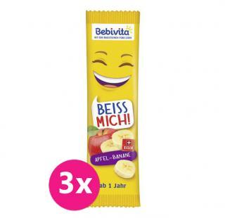 3x BEBIVITA Oblátka Jablko-Banán 25 g