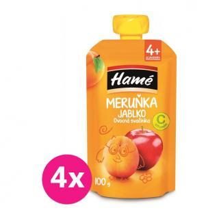4 x HAMÁNEK Ovocná desiata marhuľa 100 g