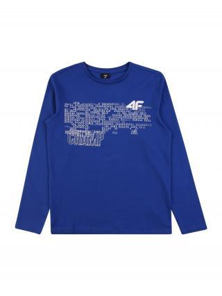 4F Funkčné tričko  modrá melírovaná / biela pánské 122