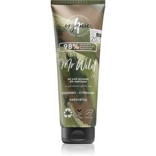 4Organic Mr. Wild prírodný sprchový gél pre mužov 250 ml pánské 250 ml