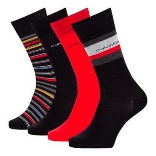 4PACK socks Calvin Klein multicolored  pánské Other One size