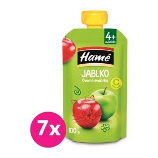 7 x HAMÁNEK Ovocná desiata jablko 100 g