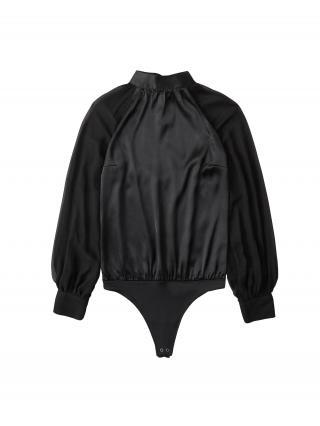 Abercrombie & Fitch Blúzkové body  čierna dámské XS