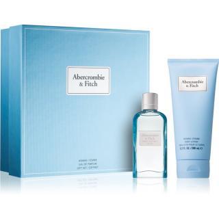 Abercrombie & Fitch First Instinct Blue darčeková sada III.  pre ženy dámské