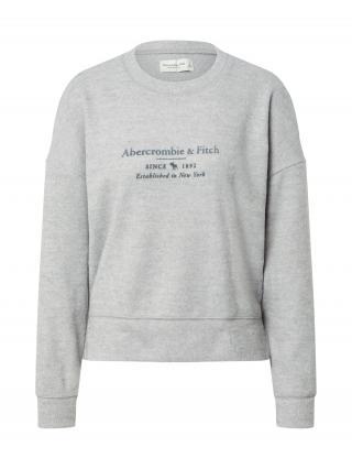 Abercrombie & Fitch Mikina  sivá / tmavomodrá dámské XS
