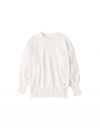 Abercrombie & Fitch Sveter CHENILLE  biela dámské XS