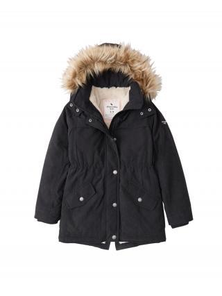 Abercrombie & Fitch Zimná bunda  čierna dámské 146-152