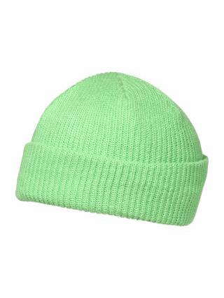 ABOUT YOU Čiapky Bjarne  neónovo zelená pánské One Size