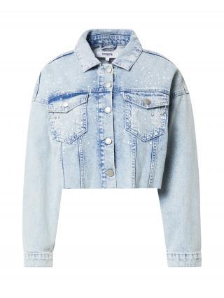 ABOUT YOU Limited Prechodná bunda Karina  modrá denim dámské M