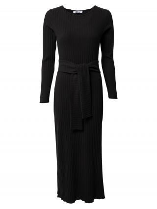 ABOUT YOU Pletené šaty Victoria  čierna dámské XS