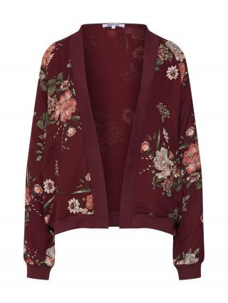 ABOUT YOU Prechodná bunda  bordová / zmiešané farby dámské S