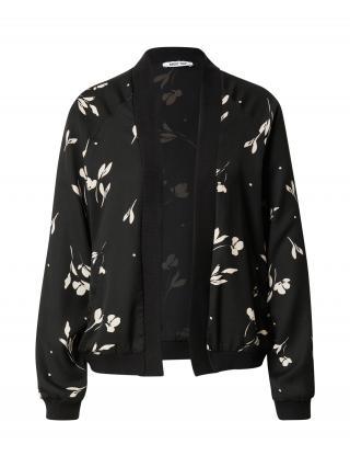 ABOUT YOU Prechodná bunda Maja  čierna / biela dámské XS