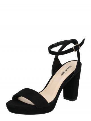 ABOUT YOU Remienkové sandále Christin  čierna dámské 41