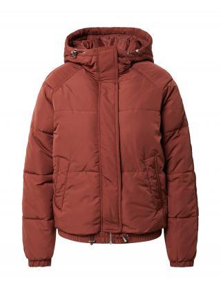 ABOUT YOU Zimná bunda Claude  hrdzavo červená / hrdzavohnedá dámské S