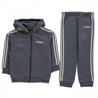 Adidas 3 Stripe Full Zip Tracksuit Baby Boys pánské Other 12-18 M