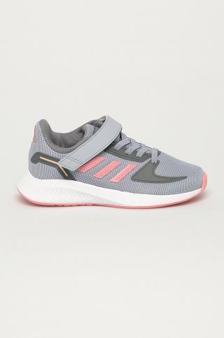 adidas - Detské topánky RunFalcon 2.0 sivá 28