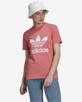 adidas Originals Adicolor Classics Trefoil Tričko Ružová dámské 44