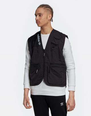 adidas Originals Adv Trail Vest Black L pánské Čierna L