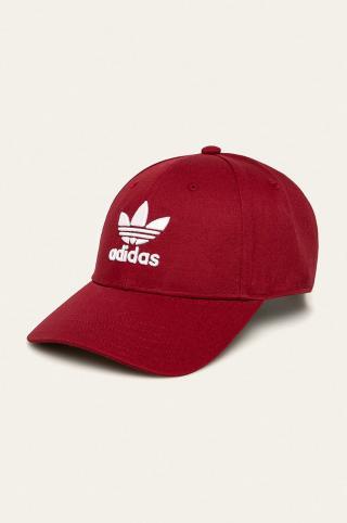 adidas Originals - Čiapka pánské červená ONE SIZE