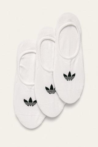 adidas Originals - Členkové ponožky  dámské biela M