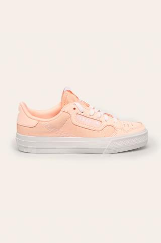 adidas Originals - Detské tenisky Continental Vulc C ružová 30