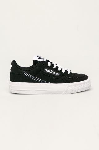adidas Originals - Detské tenisky Continental Vulc čierna 29