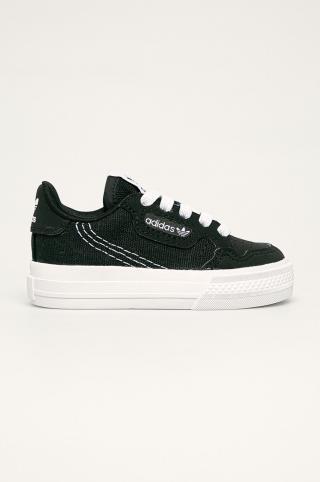 adidas Originals - Detské tenisky Continental Vulc El 1 čierna 26