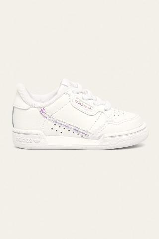adidas Originals - Detské topánky Continental 80 biela 26