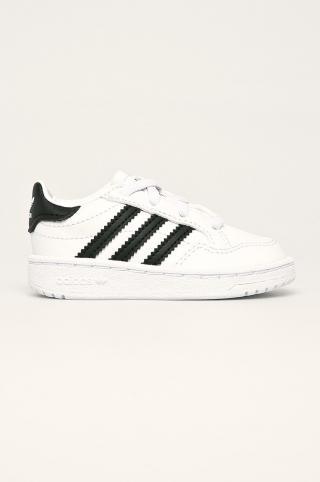 adidas Originals - Detské topánky Team Court El I biela 27