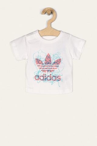 adidas Originals - Detské tričko 62-104 cm biela 92
