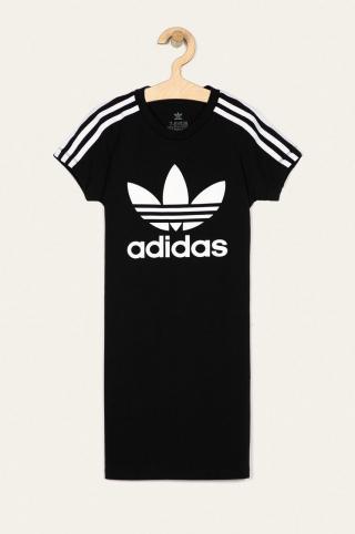 adidas Originals - Dievčenské šaty 128-170 cm čierna 152