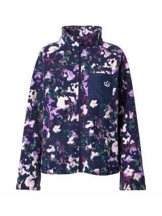 ADIDAS ORIGINALS Flisová bunda  zmiešané farby / tmavomodrá dámské XS