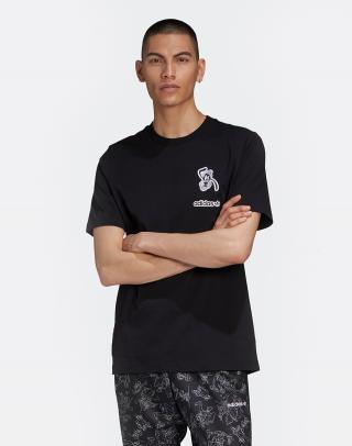 adidas Originals Goofy Tee Black M pánské Čierna M