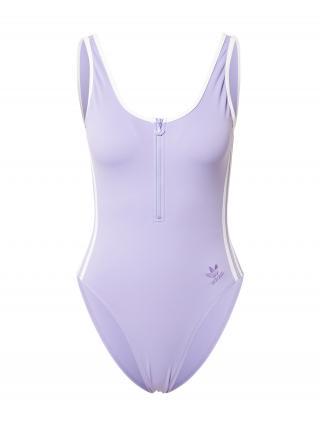 ADIDAS ORIGINALS Jednodielne plavky SWIMSUIT PB  fialová dámské XXS-XS