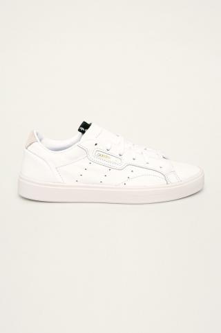 adidas Originals - Kožená obuv Sleek dámské biela 36