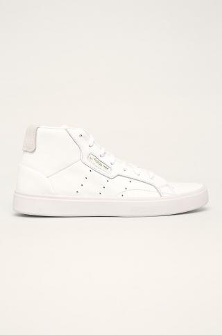 adidas Originals - Kožená obuv Sleek Mid dámské biela 36
