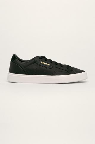 adidas Originals - Kožená obuv Sleek Shoes dámské čierna 38