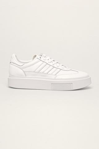 adidas Originals - Kožená obuv Sleek Super 72 dámské biela 38