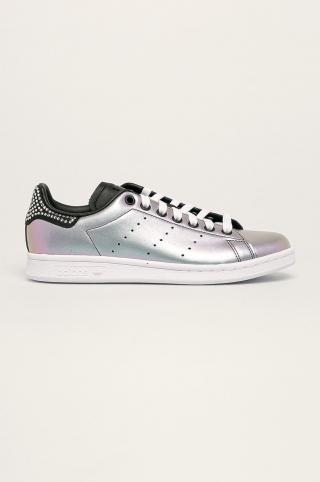 adidas Originals - Kožená obuv Stan Smith dámské fialová 36 2/3