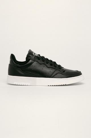 adidas Originals - Kožená obuv Supercourt pánské čierna 42