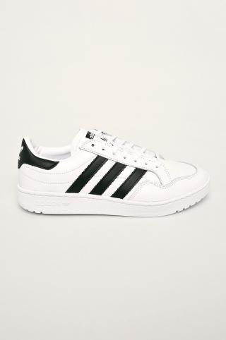 adidas Originals - Kožená obuv Team Court pánské biela 42