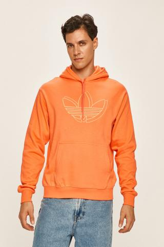 adidas Originals - Mikina pánské oranžová XS