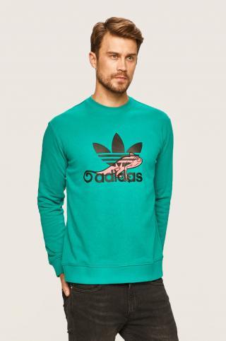 adidas Originals - Mikina pánské zelená XS