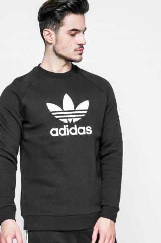 adidas Originals - Mikina Trefoil Crew pánské čierna S