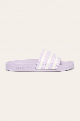 adidas Originals - Šľapky Adilette dámské fialová 38