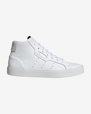 adidas Originals Sleek Mid Tenisky Biela dámské 40 2/3
