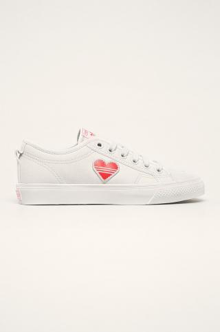 adidas Originals - Tenisky Nizza Trefoil dámské biela 36