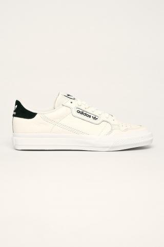 adidas Originals - Topánky Continental pánské krémová 44